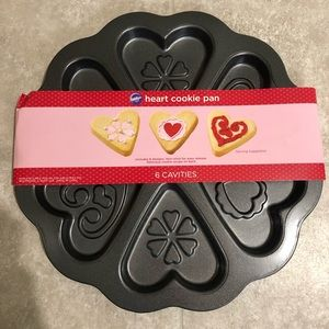 Wilton Heart Shaped Cookie Pan